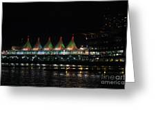 Canada Place Convention Center Greeting Card