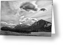Canadian Rockies 12951 Greeting Card