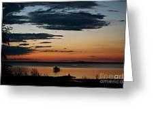 Canadian Sunrise I Greeting Card