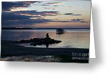 Canadian Sunrise II Greeting Card