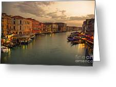 Canal Grande Greeting Card