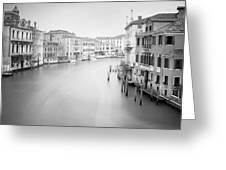 Canal Grande Study II Greeting Card