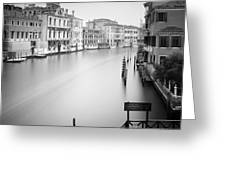 Canal Grande Study Iv Greeting Card