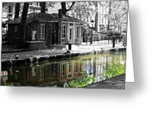 Canal Saint Martin Greeting Card