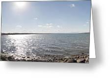 Canandaigua Lake Panorama Greeting Card