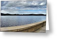 Canberra Foreshore Greeting Card