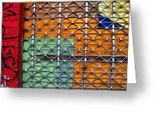 Candy Cage Greeting Card