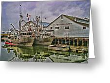 Cannery Hdr Greeting Card