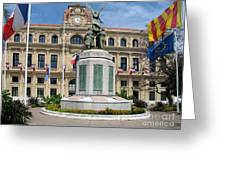 Cannes City Hall Greeting Card