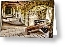 Cannons Of Dover Greeting Card