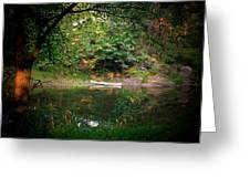 Canoe On Cacapon Greeting Card