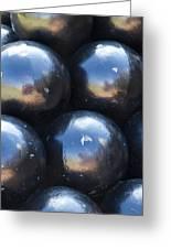 Canon Balls Greeting Card