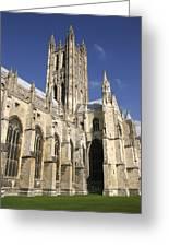 Canterbury Cathedral, Exterior Greeting Card