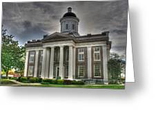 Canton Courthouse Back Greeting Card