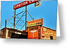 Canyon Club Route 66 Williams Arizona Greeting Card