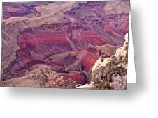 Canyon Colors 2 Greeting Card