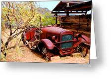 Canyon Creek Ranch Transportation Greeting Card