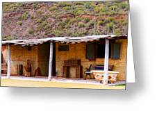 Southwest Canyon Hacienda Greeting Card