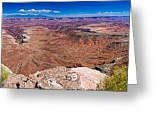 Canyon In Canyonlands Greeting Card
