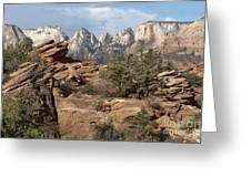 Canyon Trail Overlook Greeting Card