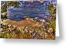 Canyon View II Greeting Card