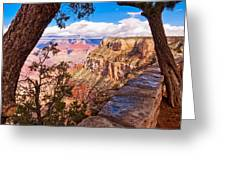 Canyon View IIi Greeting Card