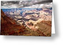 Canyon View Vii Greeting Card