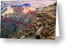 Canyon View X Greeting Card