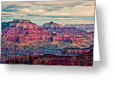 Canyon View Xii Greeting Card