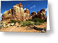 Canyonlands Chesler Park Greeting Card