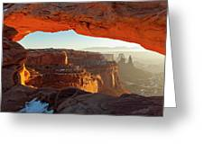 Canyonlands Sunrise Greeting Card