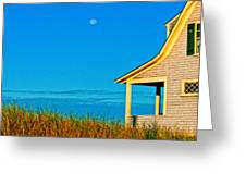 Cape Cod Bay House Greeting Card