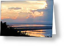 Cape Cod Beach Brewster Greeting Card