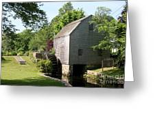 Cape Cod Water Mill Greeting Card
