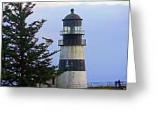 Cape D Lighthouse Greeting Card