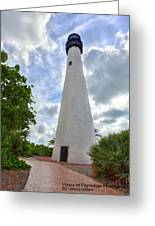 Cape Florida Light House 2 Greeting Card