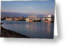 Cape May Fishing Boats Greeting Card