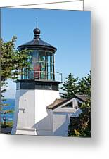 Cape Mears Or Lighthouse 2 Greeting Card