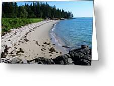 Cape Split Maine Greeting Card by Steven Scott