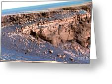 Cape St. Vincent, Mars Greeting Card
