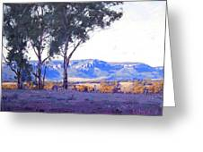 Caperty Valley Australia Greeting Card
