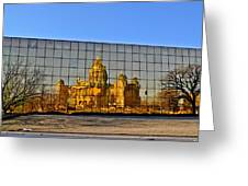 Capital Reflections Greeting Card