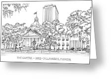 Capitol 2002 Tallahassee Greeting Card