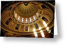 Capitol Dome Greeting Card