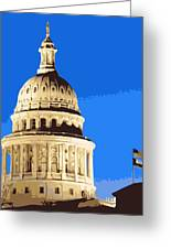 Capitol Dome Color 10 Greeting Card by Scott Kelley