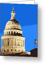Capitol Dome Color 6 Greeting Card by Scott Kelley