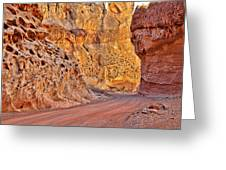 Capitol Gorge Trail At Capitol Reef Greeting Card
