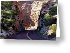 Capitol Reef National Park Road Greeting Card