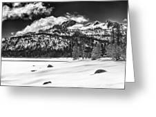 Caples Lake Greeting Card