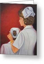 Capping A Tradition Of Nursing Greeting Card